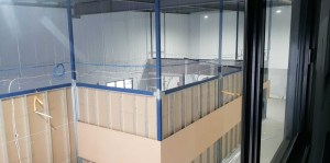 Custom engineering partition wall system