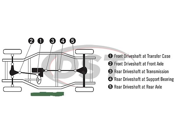 gmc sierra 1500 rear differential