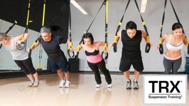TRX suspension pushup exercises