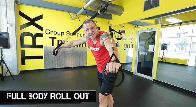 trx leg exercises full body roll outs