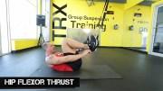 trx leg exercises hip flexor thrust