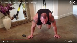 extreme TRX ab workout challenge