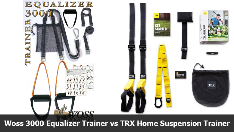 Woss 3000 Equalizer Trainer vs TRX Home Supsension Trainer