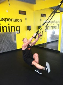 Single Leg TRX Squat L/R