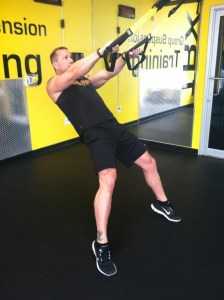 TRX Squat with Calf Raise