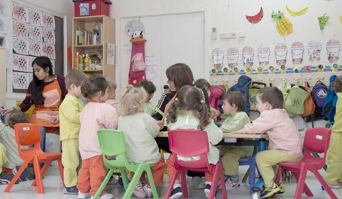 aula 2-3 francés Sus Pequeños Pasos