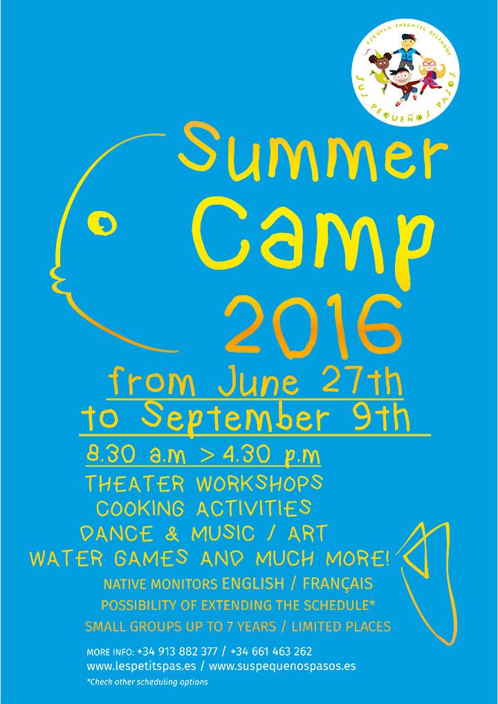 Summer Camp 2016 Sus Pequeños Pasos