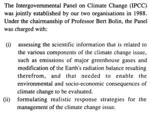 1st IPCC WG1 Human Only