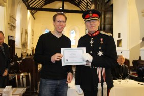 David Twinley from St Nicholas, Arundel, won the individual walkers trophy with 48 stars, and the runner up, just behind with 47 stars, was James Kelly (pictured) from Holy Trinity, Lower Beeding