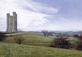 Completed Painting of Broadway Tower