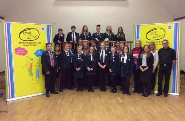 Pupils from Selsey Academy