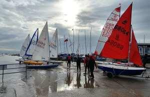 Sailing at Rye Harbour Club