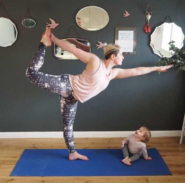 Cat Sims charity yoga April 2018