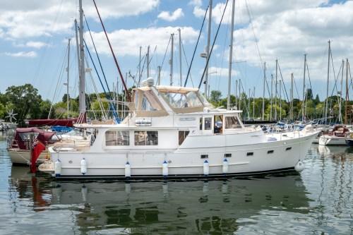 Fleming 55 Corlandus chichester yacht photographer