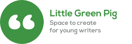 picture of little green pig