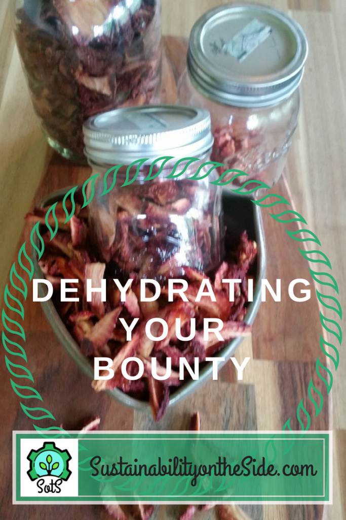 Dehydrating your bounty