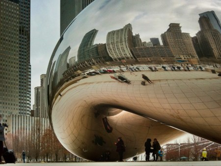 Cloudgate in Chicago's Millennium Park