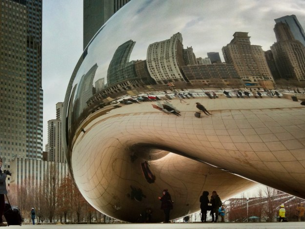 Cloudgate in Chicago's Millennium Park. Credit: Michael White