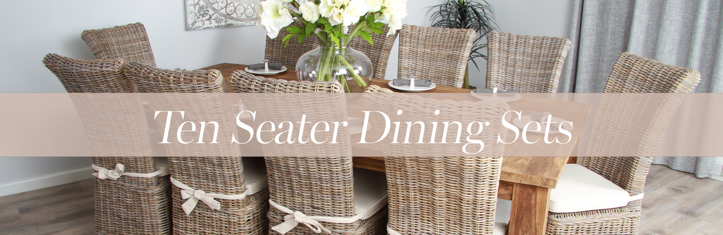 10 Seater Dining Table Set Sustainable Furniture