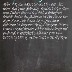 Chalkboard-background Januari
