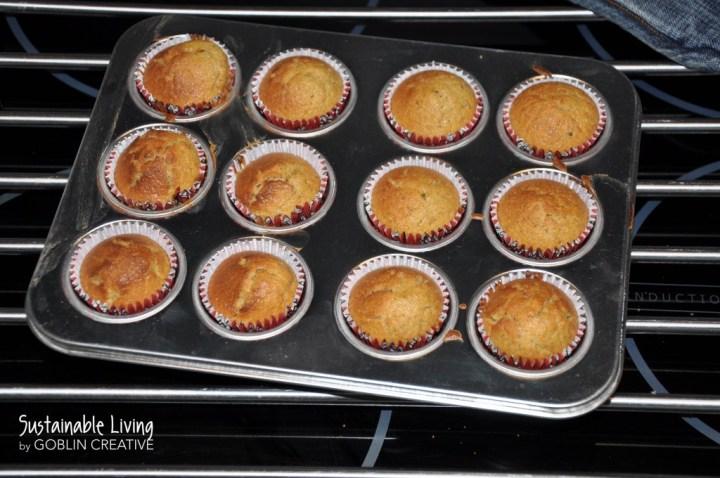 Gräddade cupcakes 1