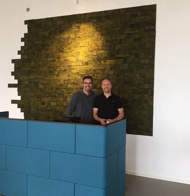 3D Cork Bricks - Green - Reception