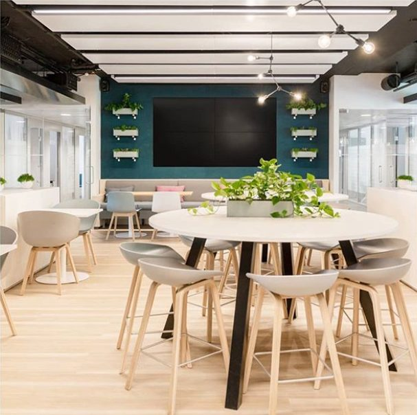 Organic Blocks - Strips Turquoise - Finnish Dining Hall 2