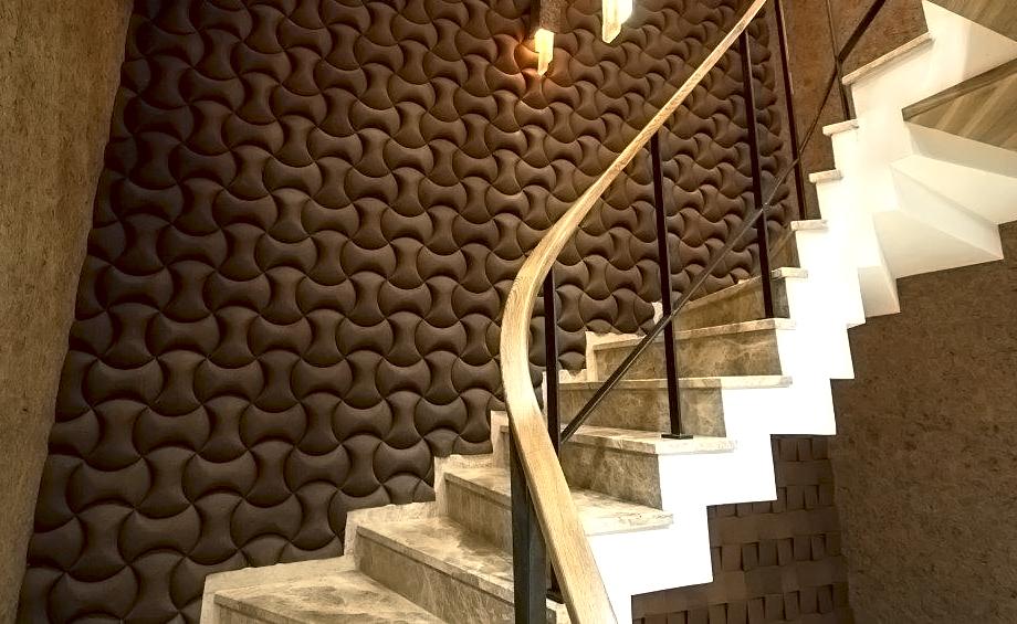 Organic Blocks - Senses Aubergine - Stairway