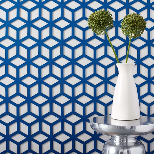 Pattern Tiles - Cinetic Cobalt Blue - West Elm