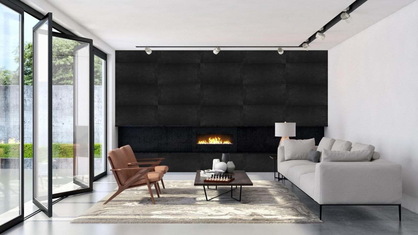 Concrete Flex - Black Cement -Rendering