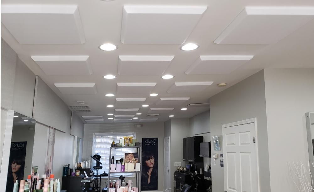 Decor ceiling stickon - hairdresser