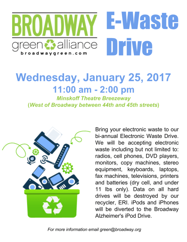 2017-january-e-waste-drive-poster