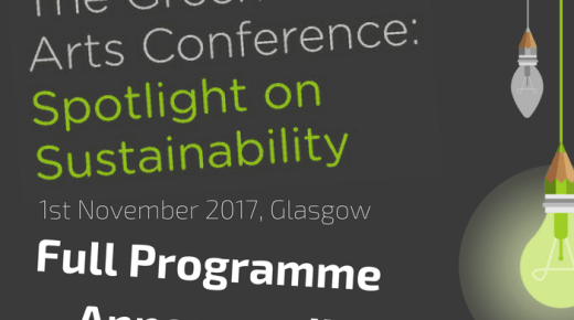Full Programme for Green Arts Conference!
