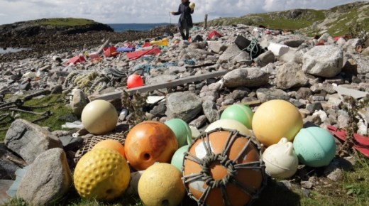 Opportunity: Beach Cleanup on Isle of Scarp