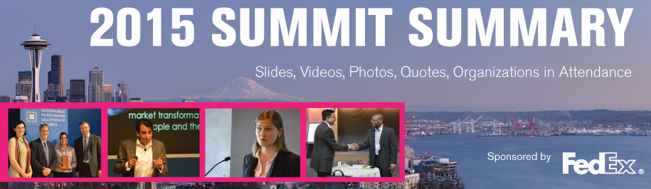 2015 Summit Summary: Slides, Videos, Photos, Quotes and more
