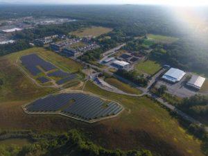 Spa Solar Park - Aerial View