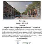 Building Heights Community Forum Flyer