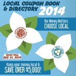 Buy Local Coupon Book 2014 cover small