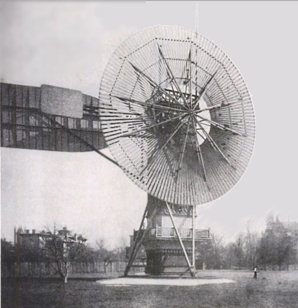 "electricity-generating ""wind engine"" from 1887"