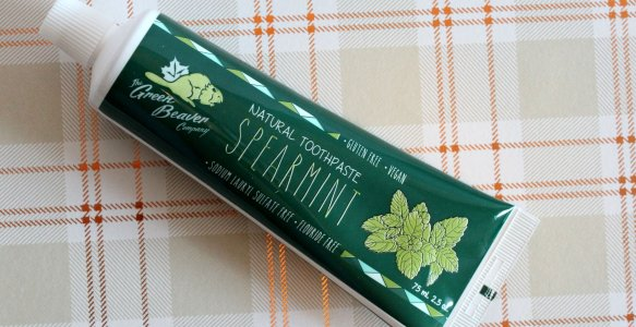 Green Beaver Natural Toothpaste | Review