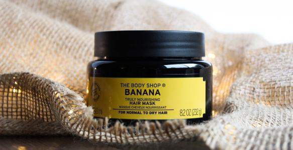 Getting Moisturized Hair With The Body Shop Banana Truly Nourishing Hair Mask