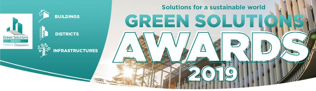 Logo der Green Solution Awards 2019