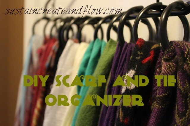 DIY-Scarf-and-Tie-Organizer