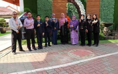 Khidmat Bantu Unit Media ERC, TV SUTAMA dengan PPD Kuala Selangor