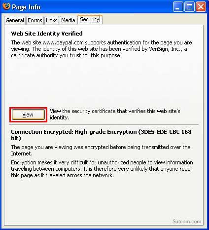 SSL www.paypal.com