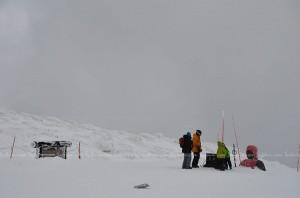 พระพุทธรูปจมกองหิมะ