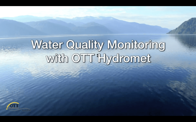Screenshot of Water Quality Monitoring Video