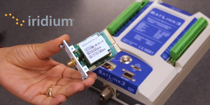 SatLink3 – Iridium® How it Works