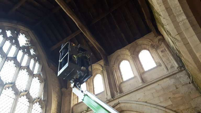 Sutterton Church Lift Works