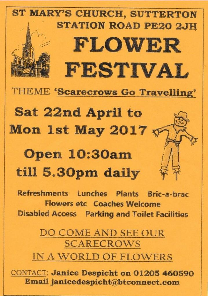 Sutterton Church Flower Festival